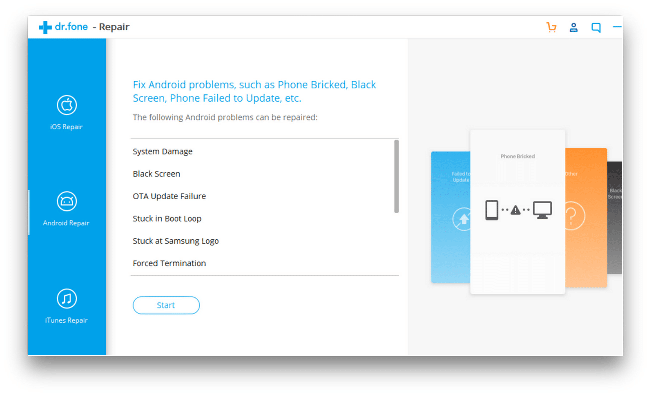 Wondershare Data Recovery for Android on Mac